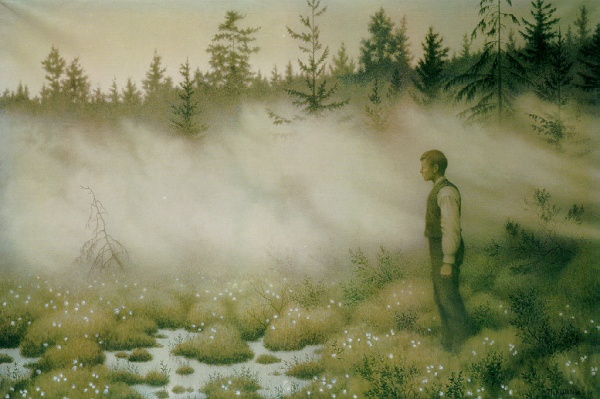 """Huldra Disappeared"" Credit: Theodor Kittelsen"