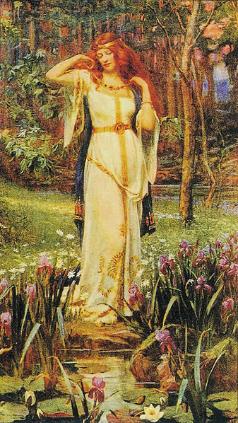 (Freyja and the Necklace by J. Doyle Penrose)