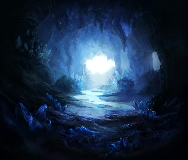 (Credit: firedudewraith from Deviantart, firedudewraith.deviantart.com/art/Crystal-Cave-2-128406747)