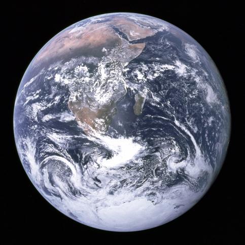 EarthSeenFromApollo17